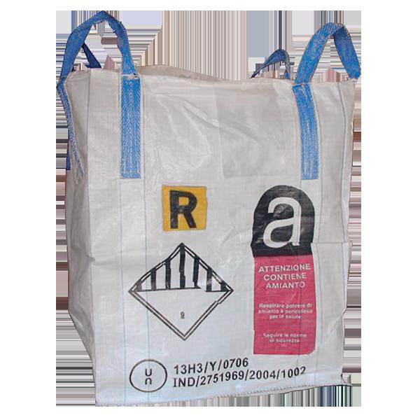 e6a46042ae Sacconi Big Bag Omologati ONU 13H3Y per amianto
