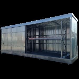 Container in lamiera